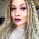 Princess Adora Intense Purple Glittery Smokey Eye