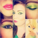 tinkerbell inspired makeup