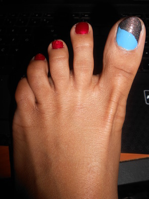 Went to Milan Institute for a spa pedi (: