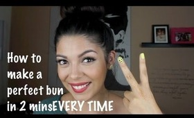 Perfect Bun in 2 mins - EVERY TIME!