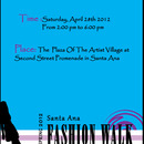 Santa Ana College Fashion Show