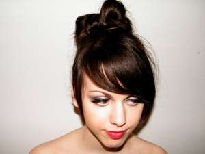Lady Gaga style : The famous bun!