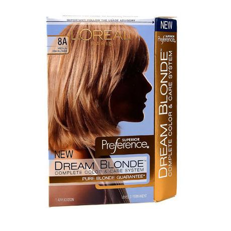 L39Oral Dream Blonde Hair Color Medium Ash Blonde 8A  Beautylish