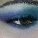 Green & blue look