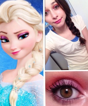 elsa makeup from frozen  beautylish