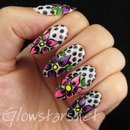 The Digit-al Dozen does florals: flowers and dots