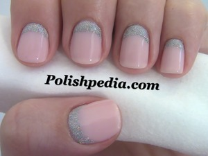 Do you like the reversed look?  Watch Our Video Tutorial @ http://www.polishpedia.com/reverse-french-manicure.html