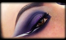 Arabic Makeup Tutorial - Purple Look