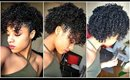 Pinned Up Side-do | Natural Hair Tutorial