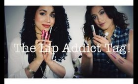 The Lipstick Addict Tag! feat. Vanessa Renta