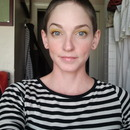 Wearable yellow eyeshadow