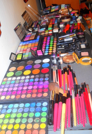 all the makeup i have at home <3