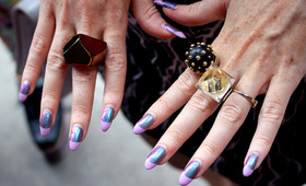 Street Seen: New York Fashion Week's Wildest Nail Art