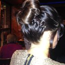Simple bun & plait