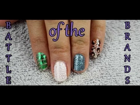 Battle of the Brands: Nail Polish Strips- Essie, Maybelline, Kiss ...