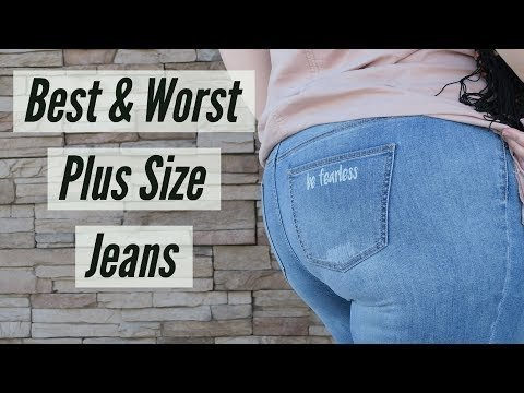 bb21f1a1b3a Best   Worst Plus Size Jeans   Jeggings Review Try On Haul