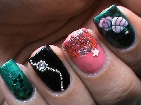 2013 New Years Nails Nail polish designs Latest Cute Nail Art Ideas ...