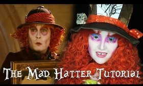 The Mad Hatter l Alice Through The Looking Glass l Makeup Tutorial!