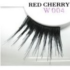 Red Cherry Shimmer & Feather Lashes - W004