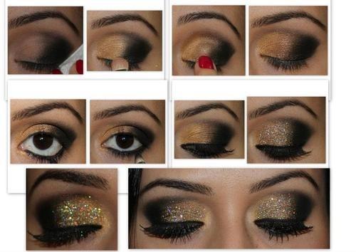 Как правильно сделать вечерний макияж для зеленых глаз
