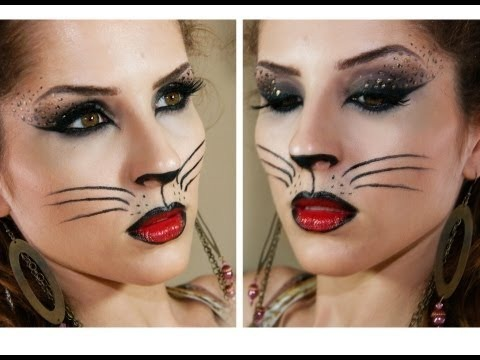 Sexy cat makeup tutorial