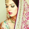 Indian Bride MakeUp!(: