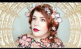 Grab Bag Makeup: Alphonse Mucha Makeup Tutorial by goldiestarling