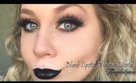 Smokey Black Makeup Tutorial