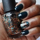 Nicole by OPI - Khloe Had a Little Lam-Lam & OPI - The Living Daylights