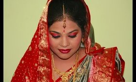 Bridal Makeup - Indian Bride/Wedding Tutorial |makeupinfo|