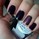 Ciate Burlesque Nail Polish with OPI Show it and Glow it