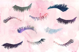 Attention pale eyelash-owners! Did you know you can get them tinted?