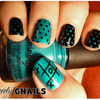 Tic Tac Toe Teal