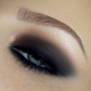 Simple fast smokey eyes make-up tutorial HD