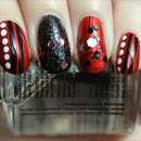 Red Fiend Nails
