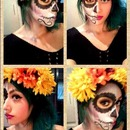Dia de los Muertos (Day of the dead) makeup