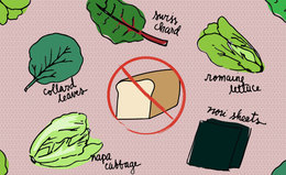Drop the Bread: Reinventing the Sandwich for Health and Beauty