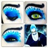 hades disney makeup look
