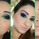 NeonGreen & Purple