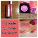 Favorite Summer Lip Products