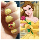Belle inspired nails!