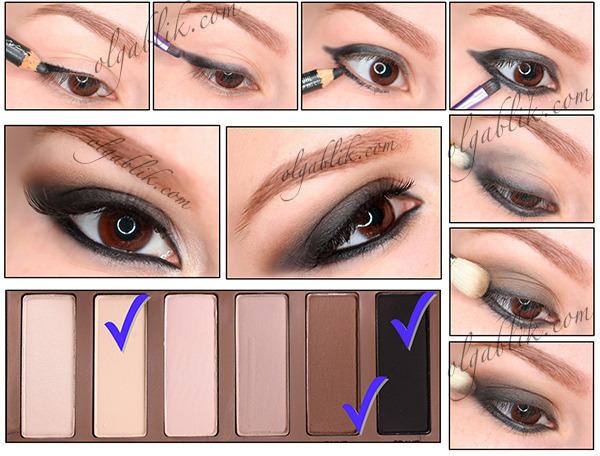 Smoky Eyes with Urban Decay Basics Palette Makeup Tutorial | Olga ...