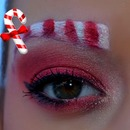 Christmas Candy Cane Look