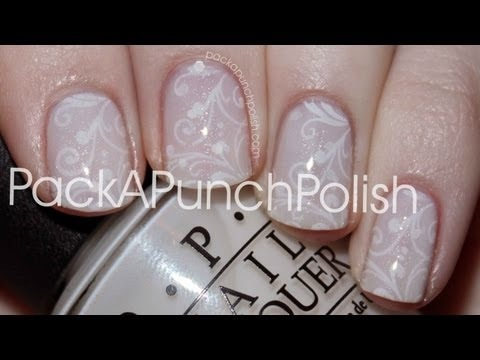 Fairy Tale Nails   Stamping Nail Art Tutorial   PackAPunchPolish ...