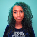 Teal to Blue Ombre HAIR TUTORIAL