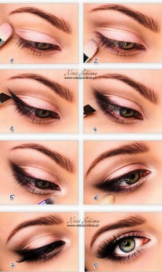 how to make small eyes look larger