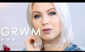 GRWM |Tartelette In Bloom Palette | Milabu09