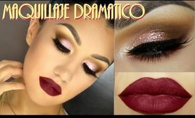 Look Dramatico Labios Rojos / Dramatic Makeup Red Lips  - @auroramakeup
