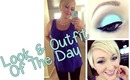 Look/Outfit of the Day! Minty Blues