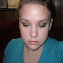 Teal Fall Smokey Eye